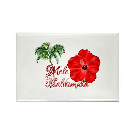 Mele Kalikamaka Magnets