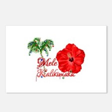 Mele Kalikamaka Postcards (Package of 8)