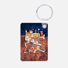 Paul Klee - Part of G, art Keychains