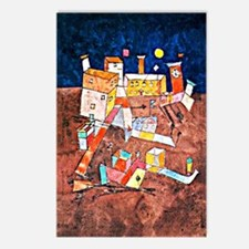 Paul Klee - Part of G, ar Postcards (Package of 8)