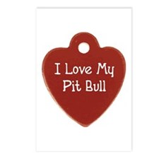 Pit Bull Tag Postcards (Package of 8)
