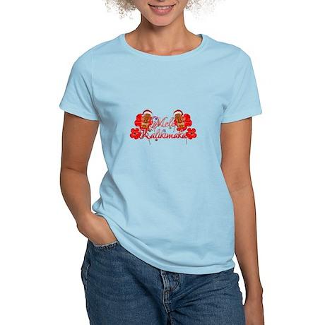Mele Kalikamaka Tiki T-Shirt