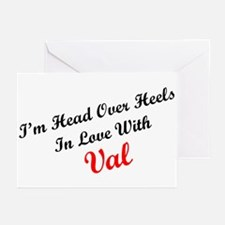 In Love with Val Greeting Cards (Pk of 10)