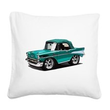 BabyAmericanMuscleCar_57BelR_Green Square Canvas P