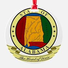 Alabama Seal Ornament