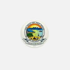 Alaska Seal Mini Button