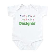 When I Grow Up Designer Infant Bodysuit