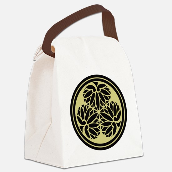 Tokugawa Family Crest Canvas Lunch Bag