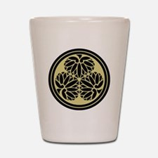 Tokugawa Family Crest Shot Glass