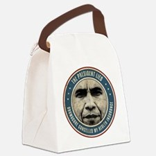 The President Lied Canvas Lunch Bag