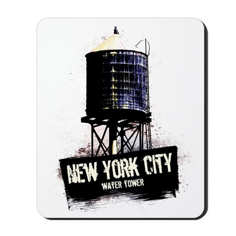 New York City Water Tower Mousepad