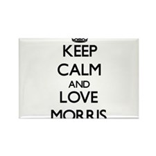 Keep calm and love Morris Magnets