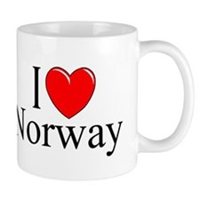 """I Love Norway"" Mug"