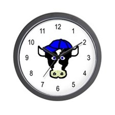 Jacob the Cow Wall Clock