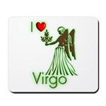 I Love Virgo Mousepad