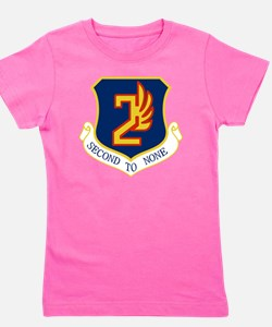 2nd Air Force - Secong To None Girl's Tee