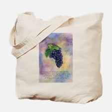 Pinot Noir Red Wine Grapes Art Tote Bag