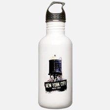 New York City Water Tower Water Bottle