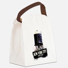 New York City Water Tower Canvas Lunch Bag