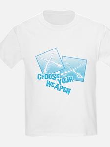 Choose Your Weapon Kids T-Shirt