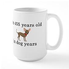 65 birthday dog years chihuahua 2 Mugs