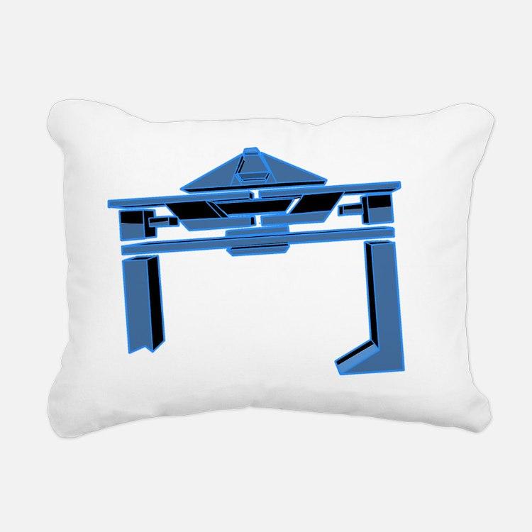 Flynn's Recognizer - TRO Rectangular Canvas Pillow