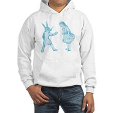 Alice and the White Rabbit Jumper Hoody