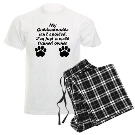 Well Trained Goldendoodle Owner Pajamas