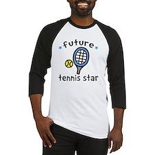 Tennis Star Baseball Jersey