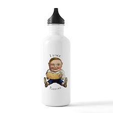I LIKE PUDDING Water Bottle