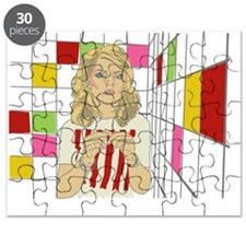 Debbie with coloured blocks Puzzle