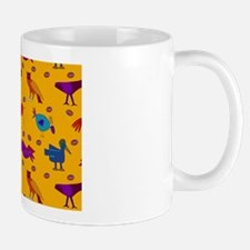 Animals Blue Chickens Mug