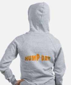 Hump Day [text] Zip Hoodie