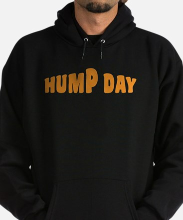 Hump Day [text] Hoodie (dark)