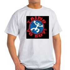 Taino Yo Soy! - Red-Blue T-Shirt