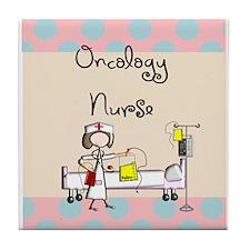 Oncology Nurse 5 Tile Coaster