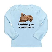 Funny Camel Long Sleeve Infant T-Shirt