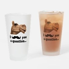 Funny Camel Drinking Glass