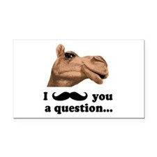 Funny Camel Rectangle Car Magnet