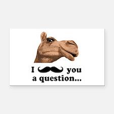 Funny Camel Rectangle Car Magnet