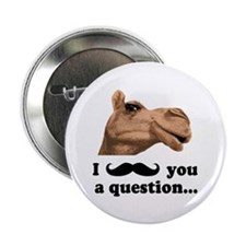 """Funny Camel 2.25"""" Button (100 pack)"""