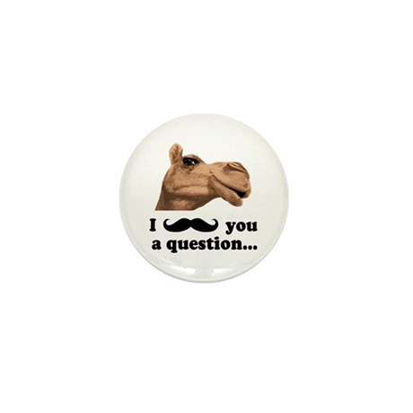 Funny Camel Mini Button (10 pack)