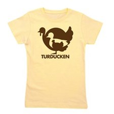 Turducken_brown Girl's Tee