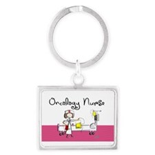 Oncology Nurse 3 Keychains