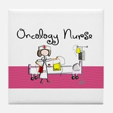Oncology Nurse 3 Tile Coaster