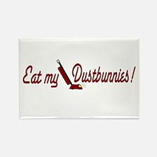 Eat my Dustbunnies Rectangle Magnet