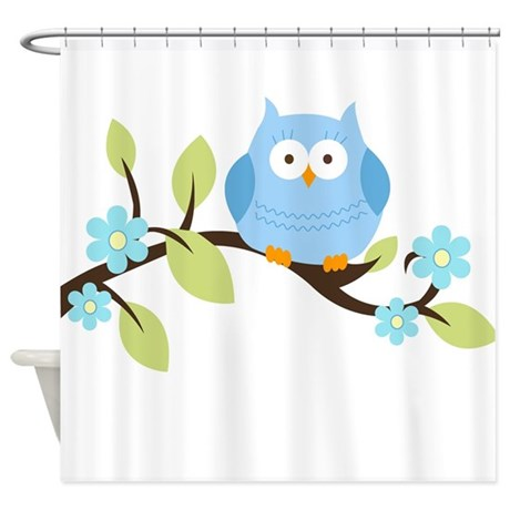 blue owl on branch