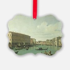 The Grand Canal from the Rialto B Ornament