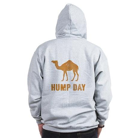 Vintage Hump Day Zip Hoodie