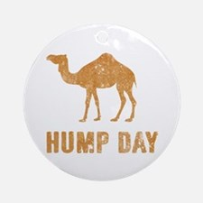 Vintage Hump Day Ornament (Round)